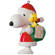 peanuts spotlight on snoopy 20th anniversary porcelain ornament