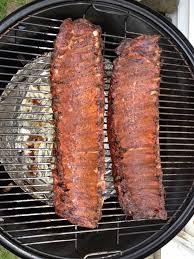 smoking amazing ribs with a weber smokey mountain wsm