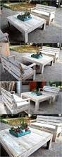 Pallet Patio Furniture Ideas by Best 25 Wooden Pallet Furniture Ideas On Pinterest Wooden