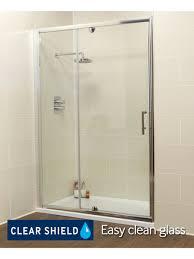 kyra range 1100 pivot u0026 inline shower enclosure