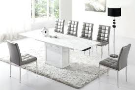 modern dining room modern upholstered dining chairs grey fabric