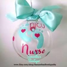 Nurse Christmas Ornament - personalises santa plate christmas ornaments pinterest