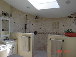 Open Shower Bathroom Open Shower Design Traditional Bathroom Newark By Alfano