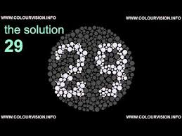 Color Blind Test Name Color Blindness Test Www Colourvision Info Youtube