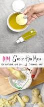 diy ginger oil mask for hair growth cure for dandruff u0026 thinning