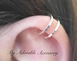 wire ear cuffs wire ear cuff etsy