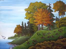 landscape painting artists landscape paintings by canadian artist indigo
