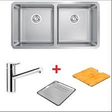 Abey Kitchen Sinks Abey Lago Undermount Bowl Sink Package With Standard Mixer