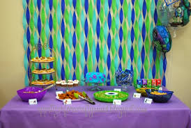 tissue paper streamers birthday party decorations with crepe paper image inspiration of