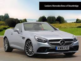 convertible mercedes used mercedes benz slc class convertible for sale motors co uk