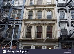 nineteenth century buildings on white street in tribeca a