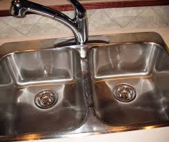 Cleaning Kitchen Sink by How To Clean And Shine Your Stainless Steel Sink Stainless Steel