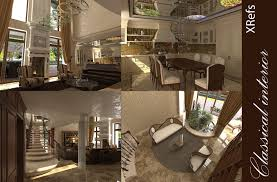 classic interior house 3d cgtrader