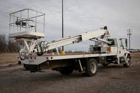 elliott ecg 4 85 h 2002 international 4300 4x2 sign truck