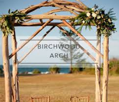 wedding arches coast ceremony packages gray station wedding styling hire