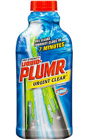 Kitchen Sink Clog Remover by Liquid Plumr Urgent Clear For Clogged Sinks
