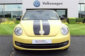 used yellow volkswagen beetle for find a used yellow vw beetle cabriolet sport 2 0 tdi 140 ps