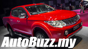 mitsubishi adventure 2017 price 2015 mitsubishi triton vgt launch in malaysia autobuzz my youtube