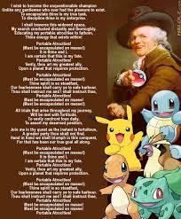 Old English Rap Meme - the pokemon theme joseph ducreux archaic rap know your meme