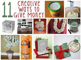 creative ways to give money gifts