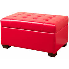 Ottoman Red by Dark Red Storage Ottoman U2013 Home Improvement 2017 Flame Red
