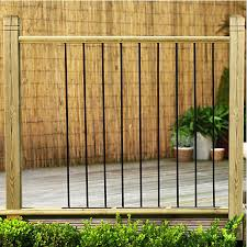 Metal Garden Trellis Uk Railing Kits U0026 Deck Panels Decking Wickes Co Uk