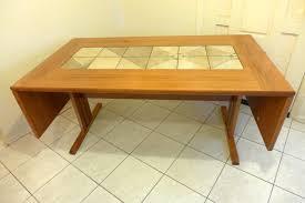 Dining Room Popular Dining Table Design With Teak Leaf Drop Dining - Scandinavian teak dining room furniture