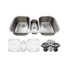 Triple Kitchen Sinks Kitchen The Home Depot - Triple sink kitchen
