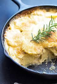 parmesan rosemary au gratin potatoes the blond cook