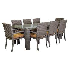 zen dining table seats 8 rectangular usa exterior