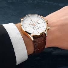 men u0027s chronograph white u0026 rose gold watch u2013 vincero collective