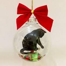 cat ornament black cat ornament cat
