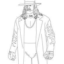 wrestling coloring pages free games videos kids