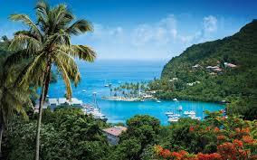 St Lucia Island Map St Lucia Villa U0026 Apartments Fleewinter