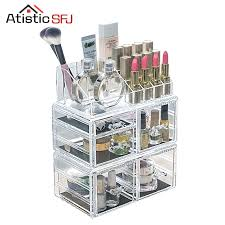 Bathroom Makeup Storage by Desk Acrylic Desk Storage Clear Acrylic Cosmetic Organizer Box