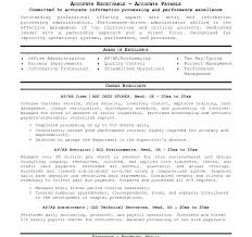 resume templates for accounts payable and receivable training sle resume for accounts payable and receivable x accounts