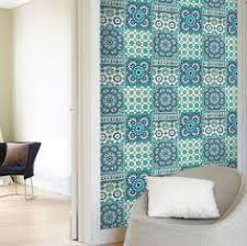 grandeco sapphira blue mosaic tile wallpaper blue mosaic mosaic