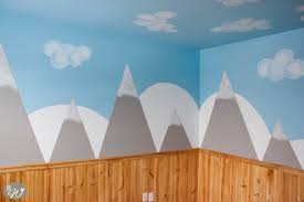 Wall Painters by Diy Mountain Walls The Rustic Willow