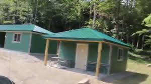 Allegany State Park Cabins With Bathrooms Group Camp 12 Renewed First Day Open At Allegany State Park Youtube