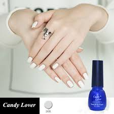 candy lover nail gel polish french manicure black color uv lamp