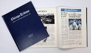 Chicago Tribune News Desk History Of The Beloved Chicago Cubs