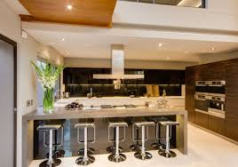 stools white modern kitchen bar beautiful black leather on