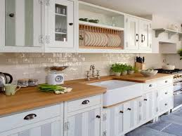 kitchen backsplash white apron front sink farmhouse kitchen wall