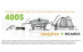 ricardo cuisine concours ricardo cuisine québec concours gratuits