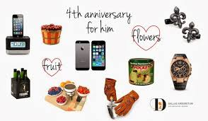 4th anniversary gift ideas for him 4th anniversary gift ideas anniversary gifts anniversaries and gift