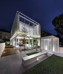 Home Lighting Design In Singapore by A Minimalist U0027s Dream Home In Singapore With A Privacy Wrapped