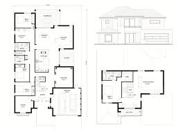 luxury home plans for narrow lots small 2 story floor plans marvelous bungalow simple southern