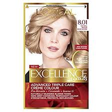 how to get medium beige blonde hair l oreal excellence creme 8 01 natural medium baby blonde hair dye