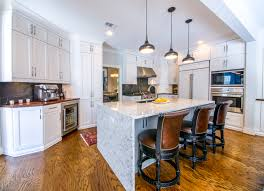 painting kitchen cabinets spray or brush penetrol paint