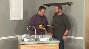Water Filters For Kitchen Sink How To Install A Water Filter In A Kitchen Sink